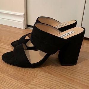Steve Madden Strappy Block Heels